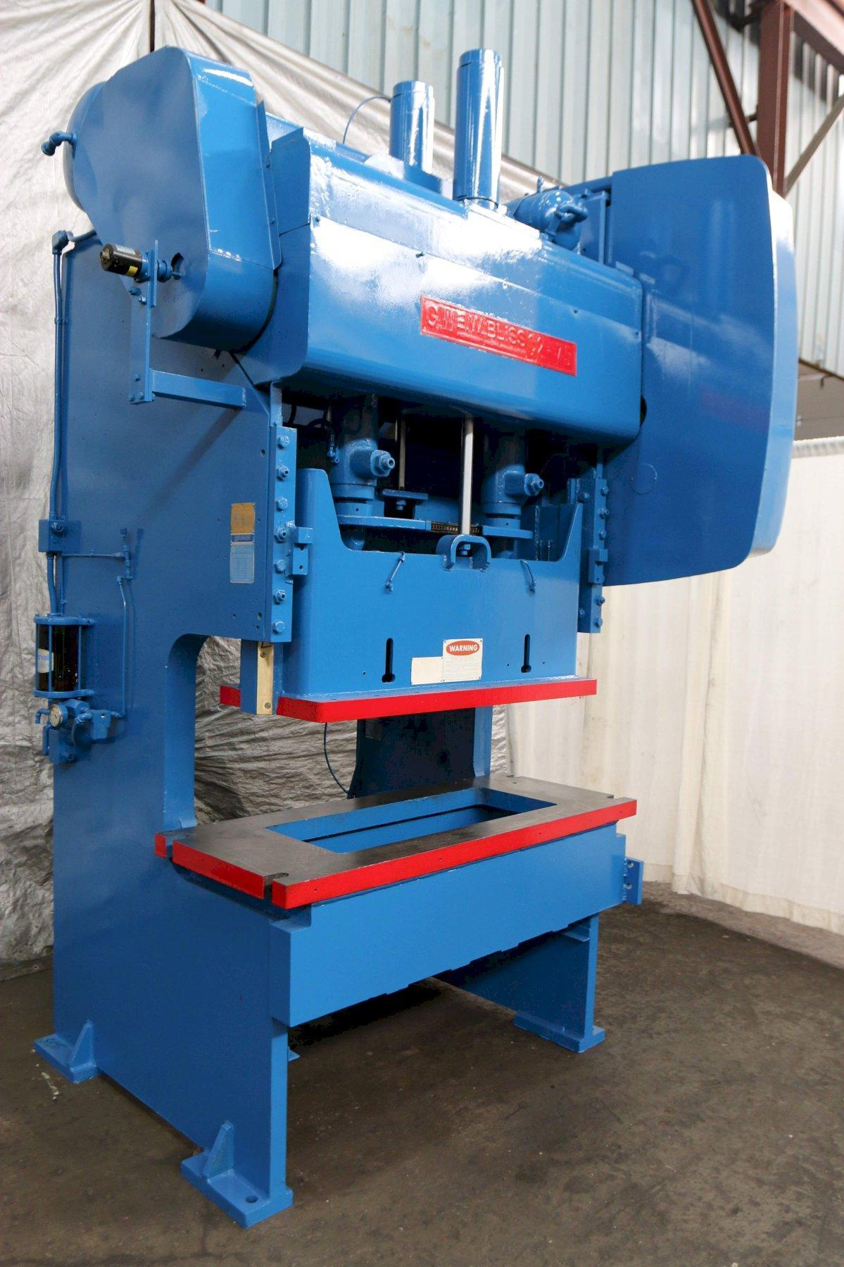 75 TON BLISS GAP PRESS: STOCK #70021