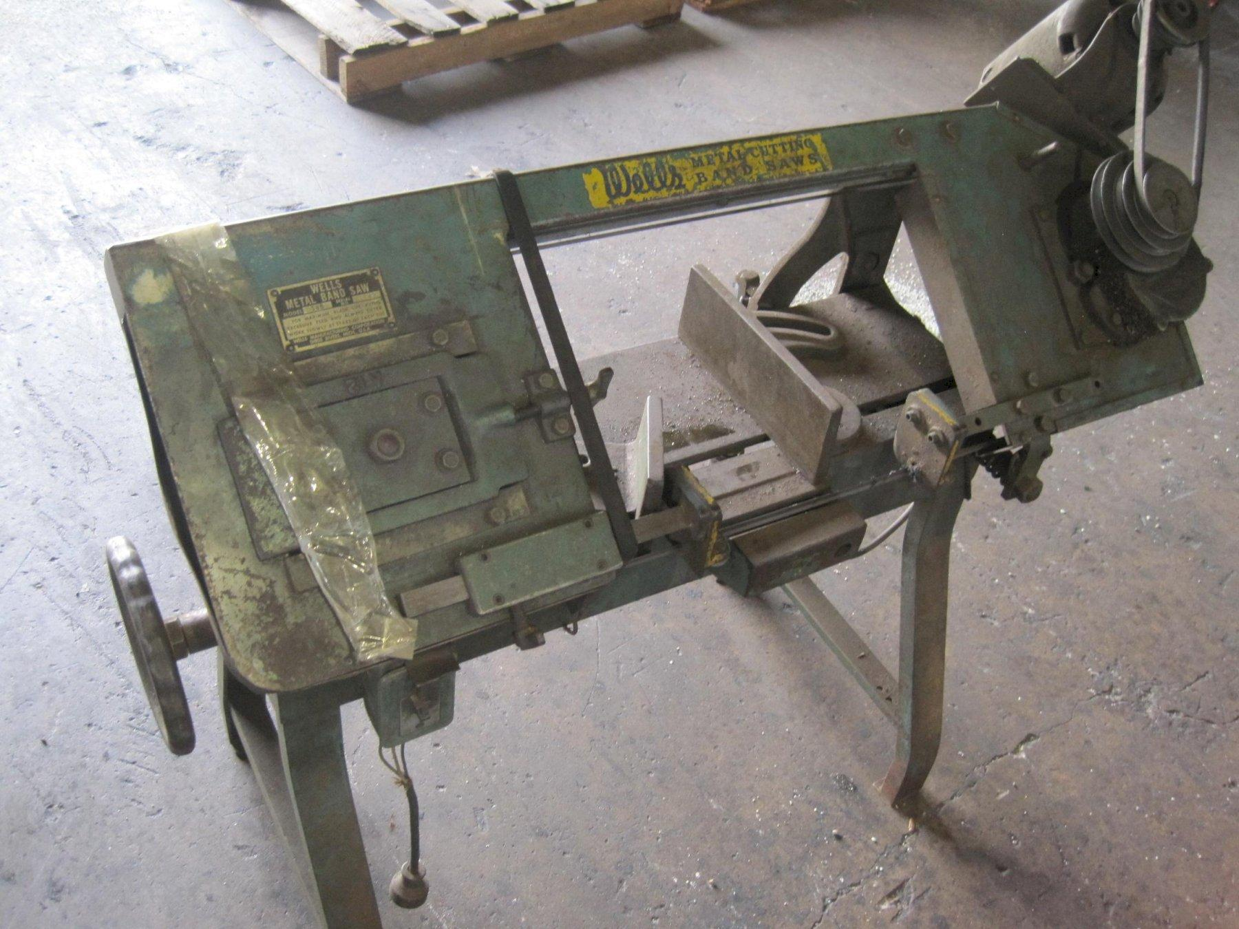 Metal Band Saw - Wells Model 58B