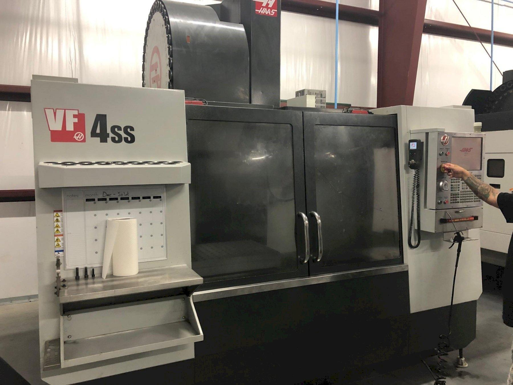2012 Haas VF-4SS High Speed Vertical Machining Centers - 2 Available!
