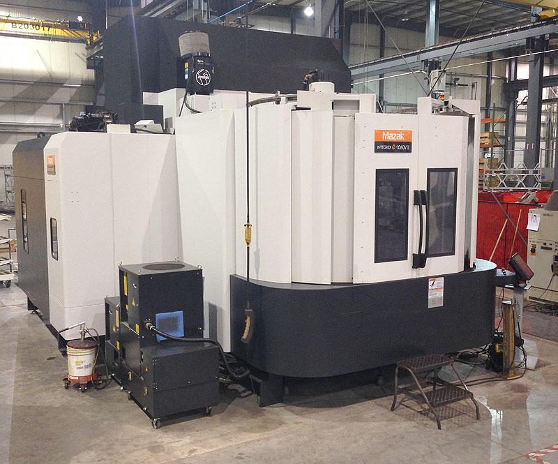 "MAZAK Integrex e-1060V/8ii, Matrix CNC Control, 49"" Turning Diameter, 39"" Pallets, X=73, Y=43,Z=52, 5-Axis Turning and Milling, New 2009."
