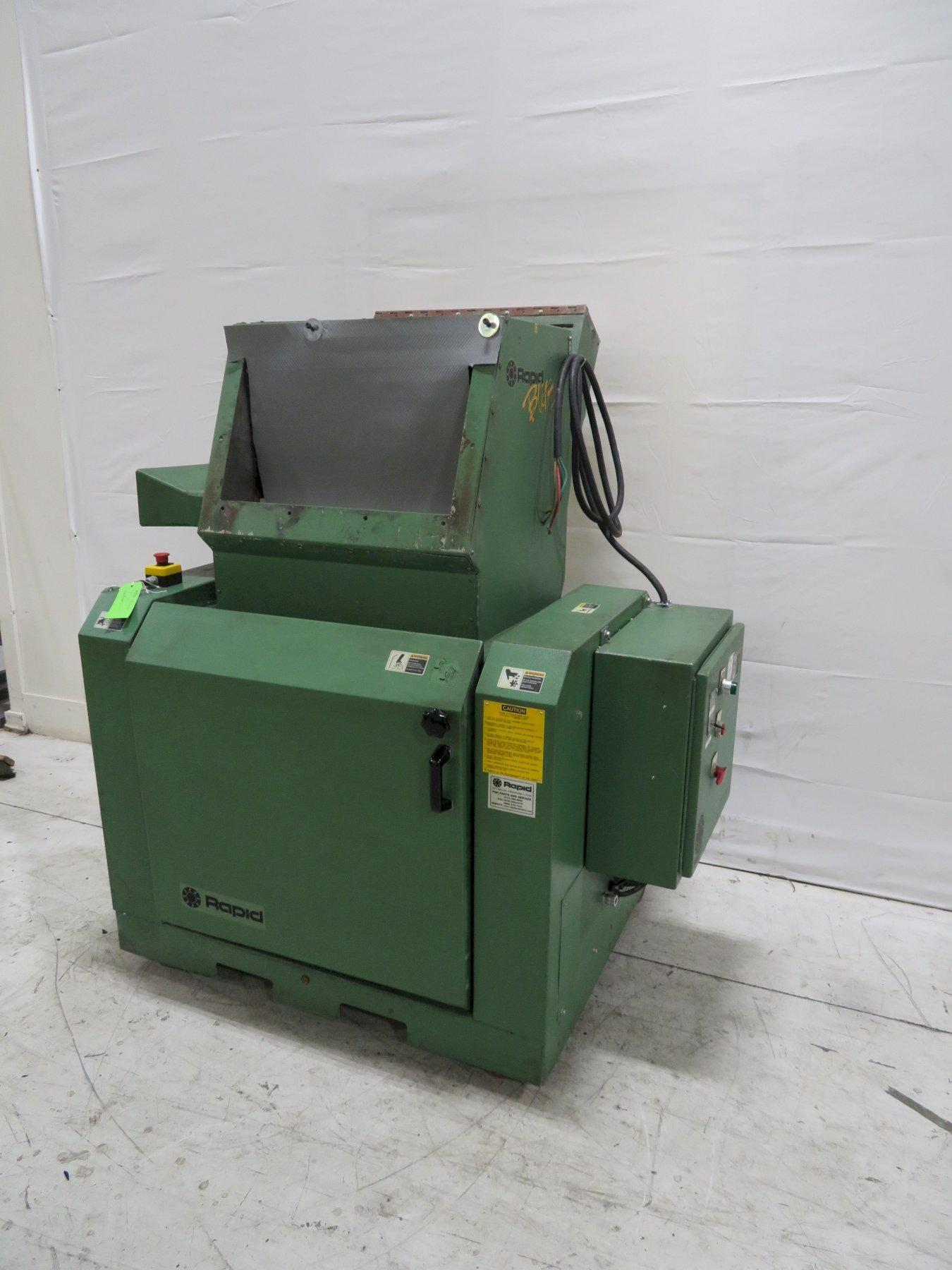 "Rapid Used B-24 Granulator, 24""x4"", 30hp, 480V, Yr. 2001"
