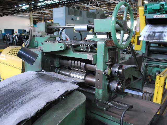 """18"""" x 2-7/8"""", RUESCH, LOOPING PIT, 0.003 - 0.025""""/.076-.635mm THICKNESS SLITTING LINE (13809)"""