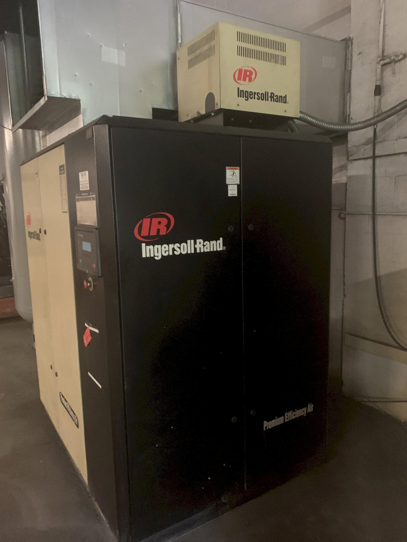 75 HP INGERSOLL-RAND MODEL IRN75-H-CC VARIABLE SPEED ROTARY SCREW AIR COMPRESSOR