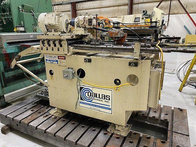 """18"""" x 18"""" Dallas Air Feed and Straightener Model# D200-18x18- LH"""