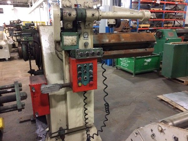 Egan Press Partner (Pull Off) Coil Reel And Load Car Uncoiler 10,000 Lbs. x 36