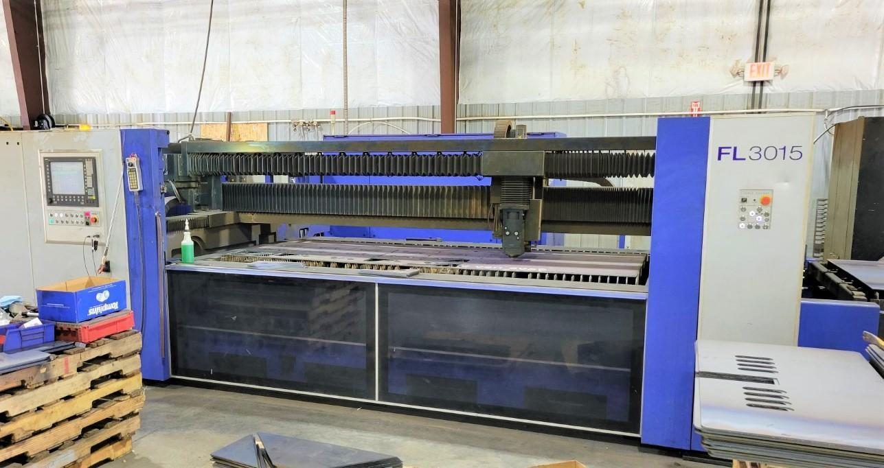 2013 HK FL3015, 5x10, 5000 Watt CNC Laser