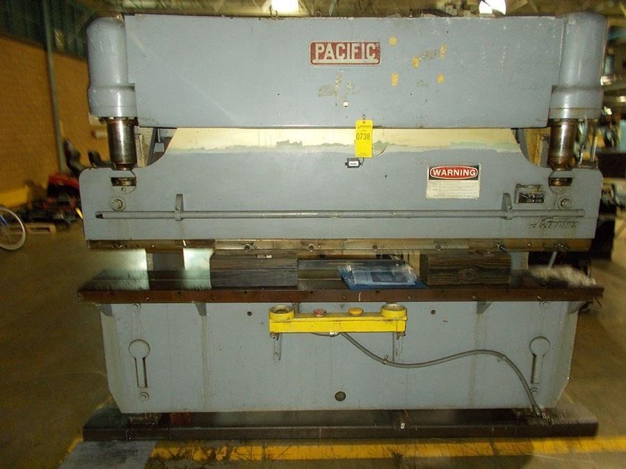 55 Ton x 8' Pacific J55-8 Hydraulic Press Brake