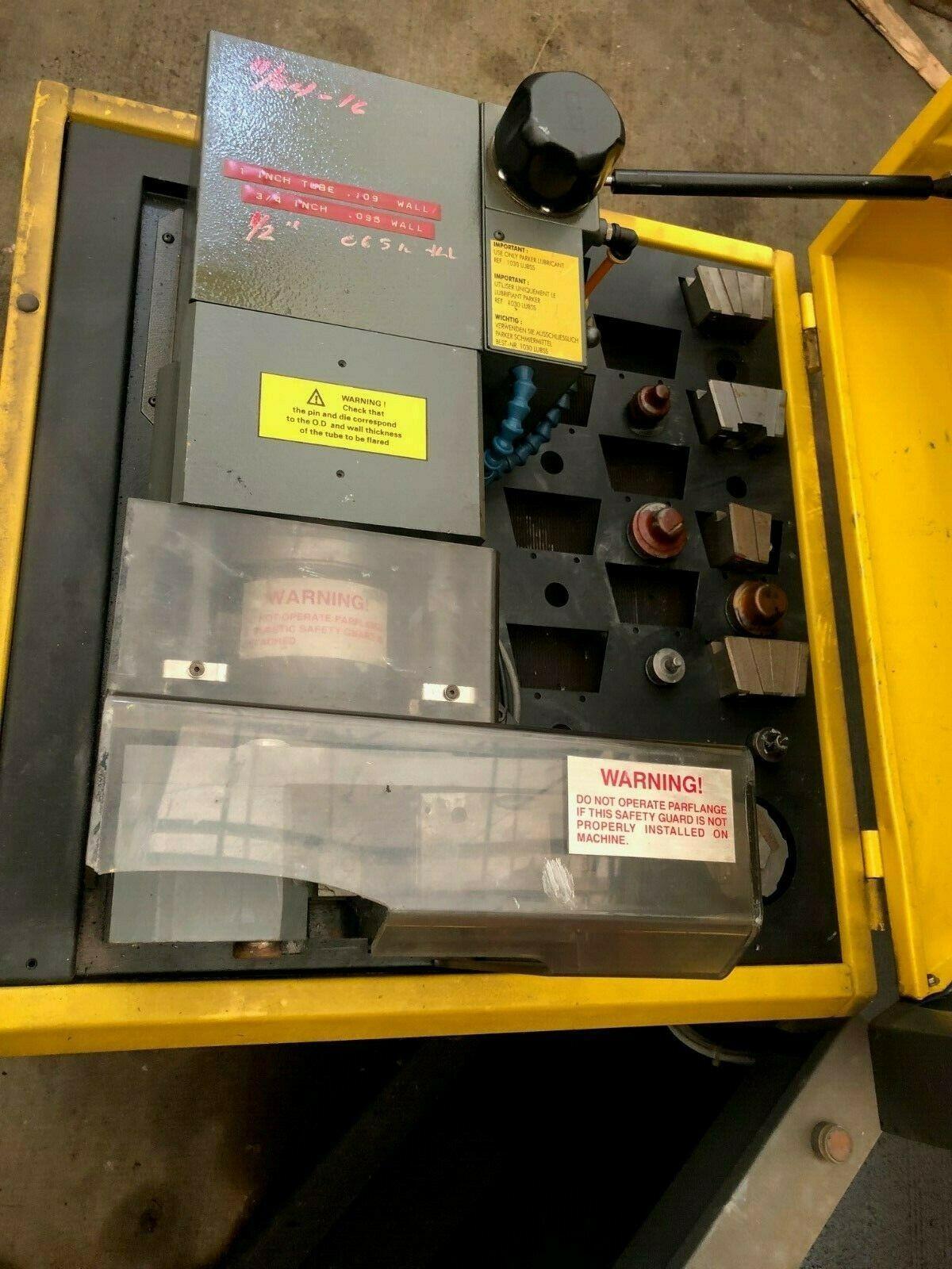 PARKER PARFLANGE 1040 TUBE FLANGING / FLARING MACHINE
