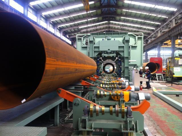 """80"""" (2032mm) x 25.4mm LSAW API Pipe Plant"""