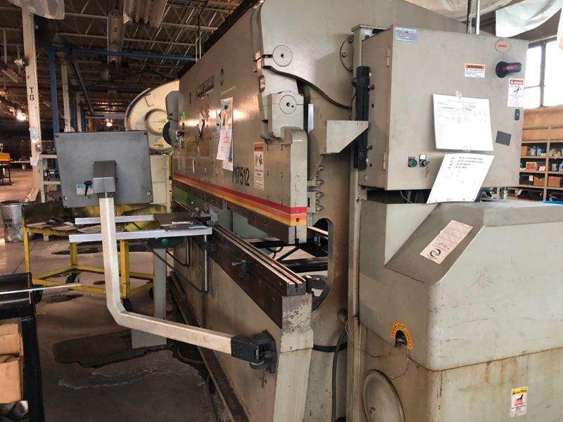 175 Ton x 12' Accurpress Hydraulic CNC Press Brake