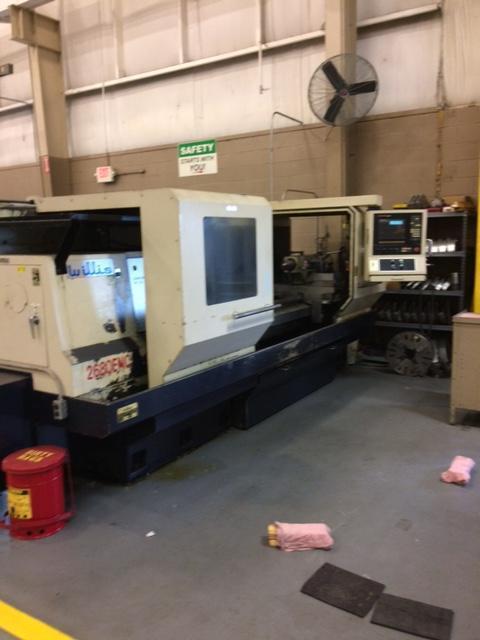 Willis ENC2680 CNC Flatbed Lathe