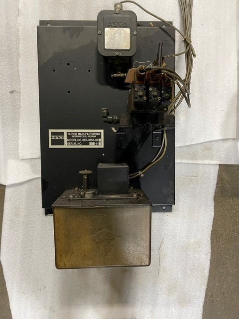 LUBE UNIT FROM HURCO,  002-3858-00