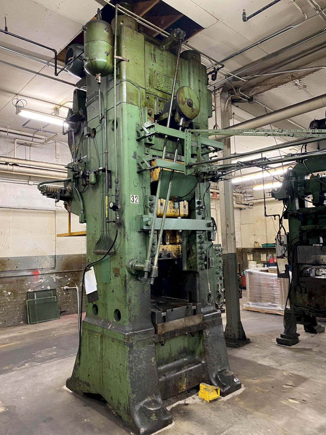 800 TON MINSTER KNUCKLE JOINT PRESS: STOCK #73149