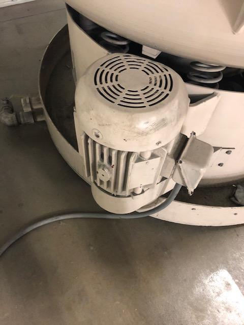 4.3 Cubic Foot Hammond Roto-Finish Vibratory Bowl