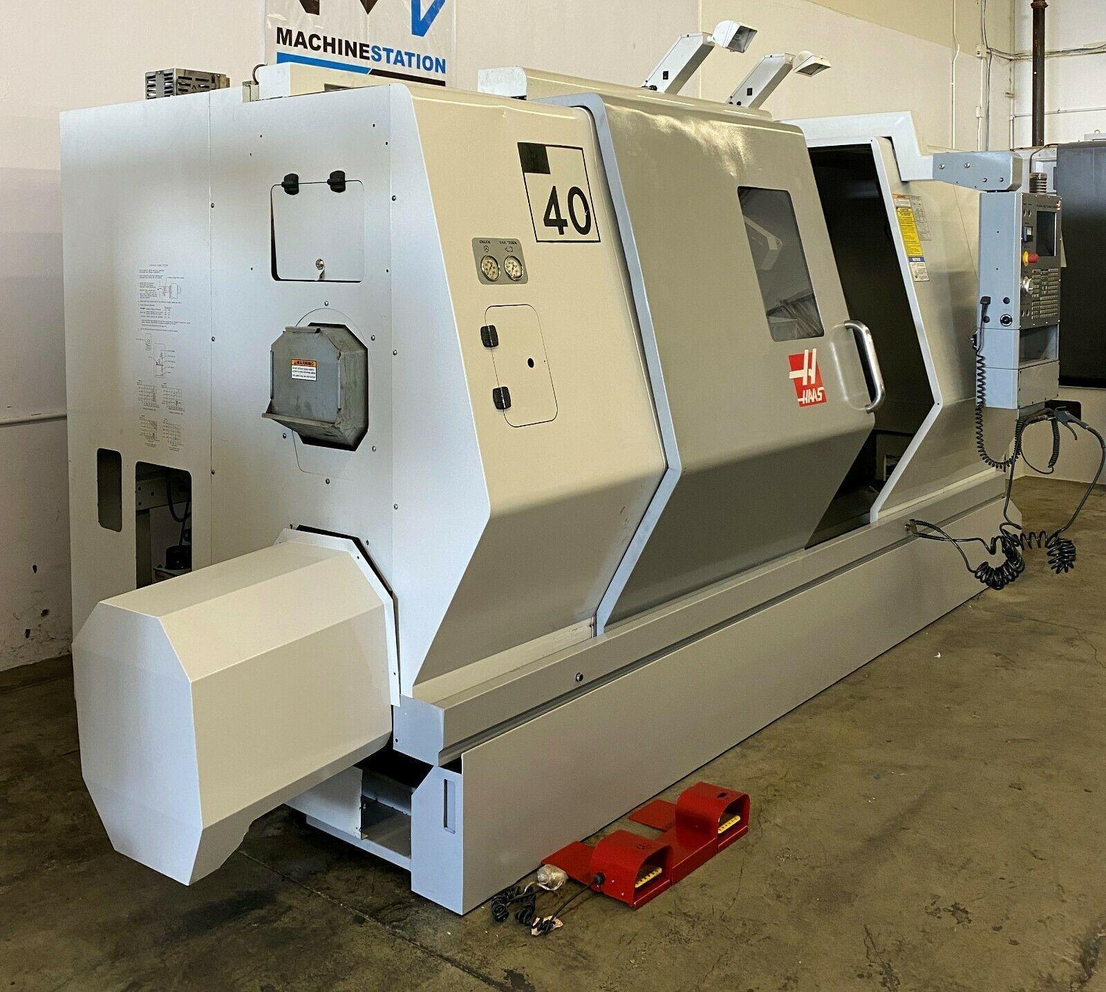 HAAS SL-40T CNC TURN MILL