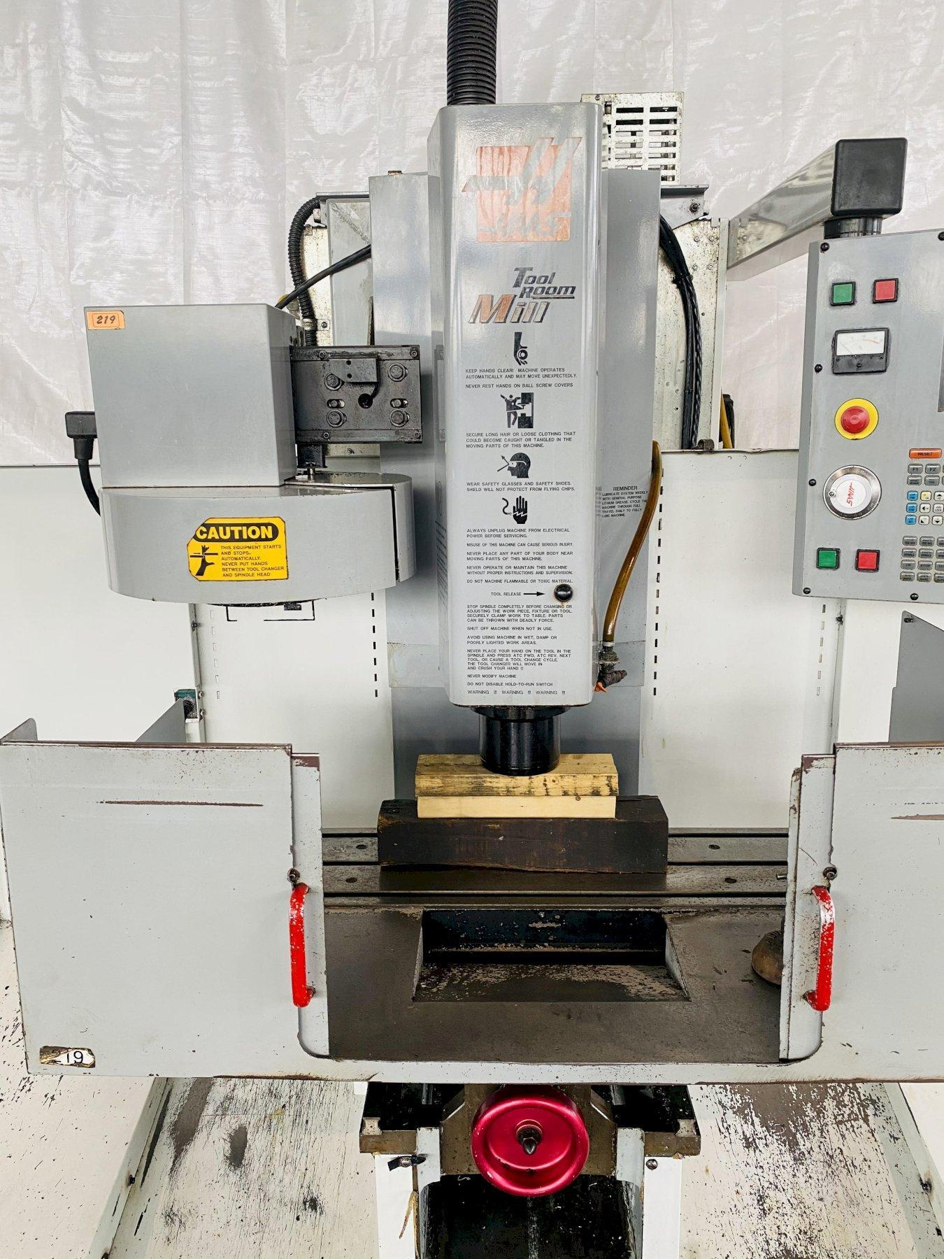 (2003) HAAS TM-1 CNC VERTICAL MACHINING CENTER. STOCK # 0633621