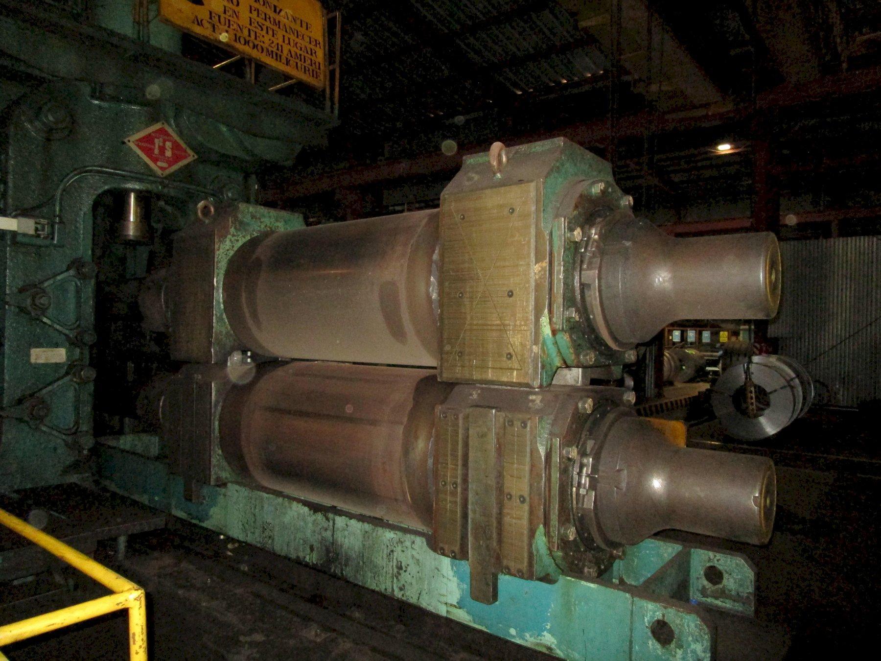 "55"" (1400mm) x 2.0mm - .15mm I2S/Mesta 2HI Temper Pass Mill"