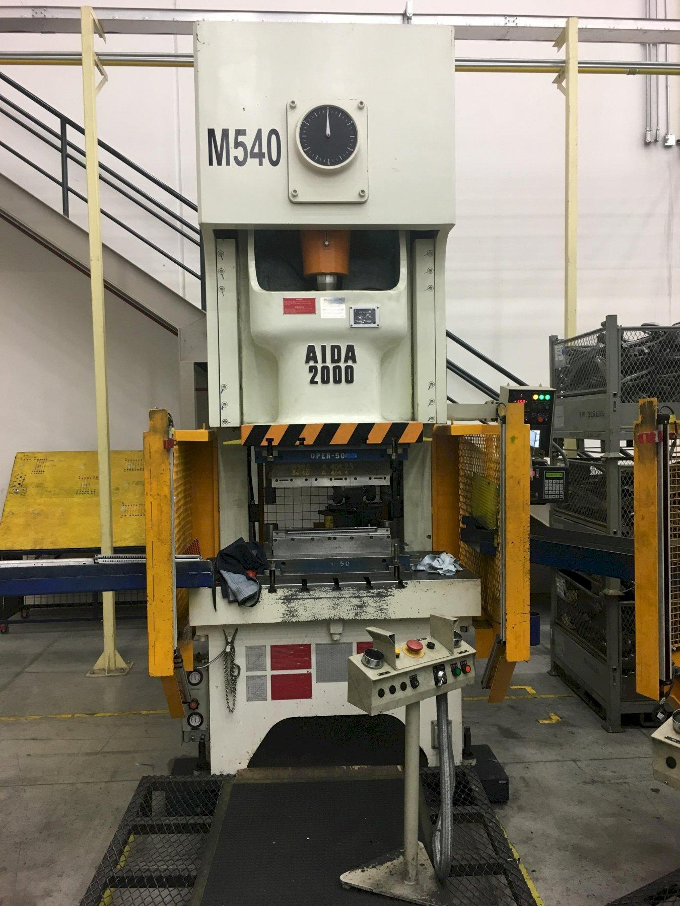 200 ton Aida NC1-2000 (2)E Gap Press