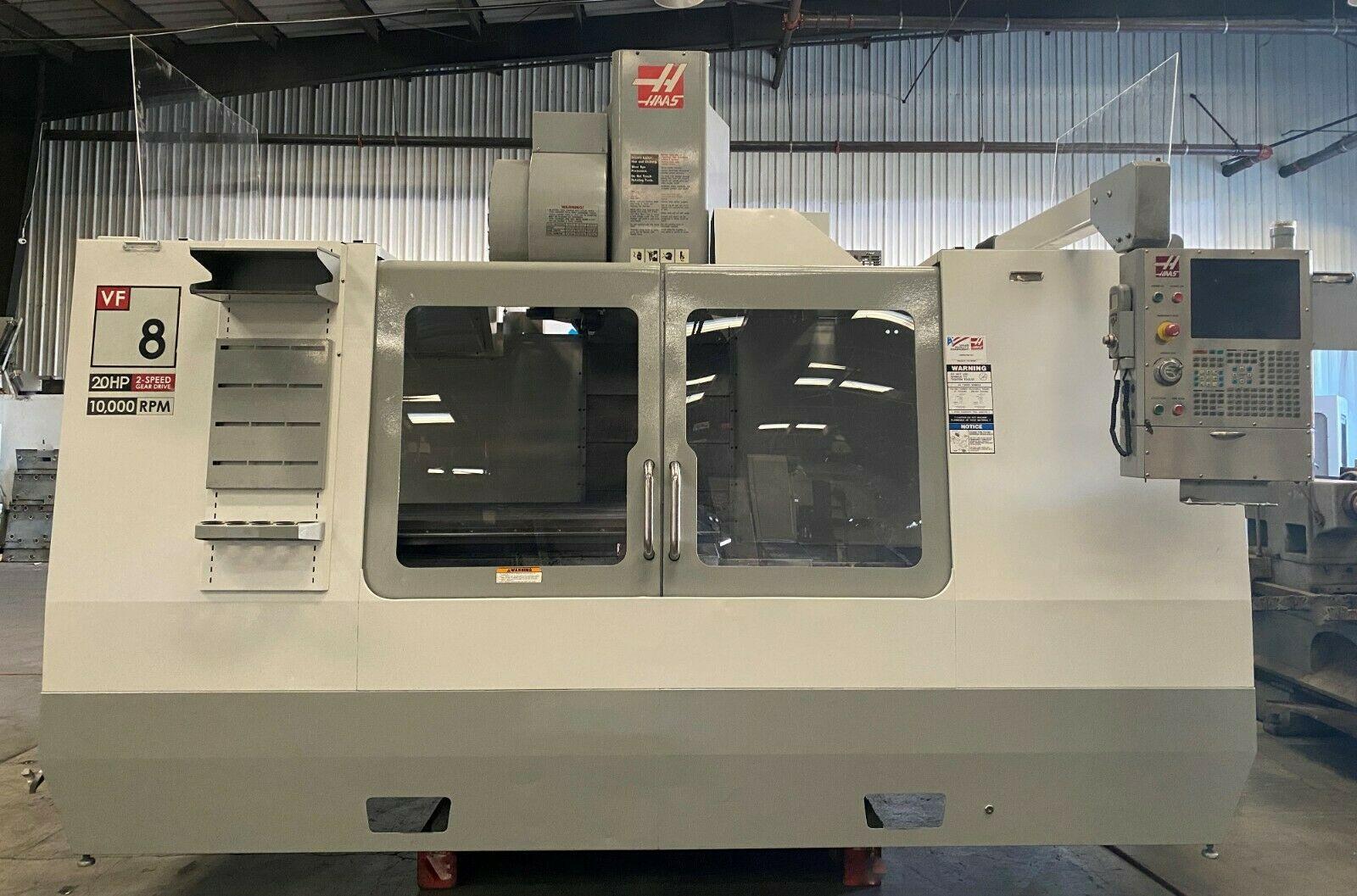 HAAS VF- 8D VERTICAL MACHINING CENTER