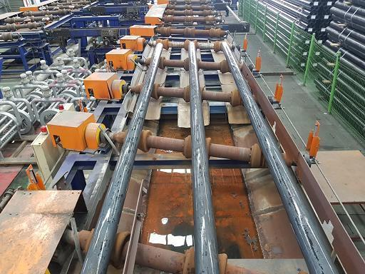 HANJUNG QUENCH AND TEMPER LINE, ROLLER HEARTH   Our stock number: 114590
