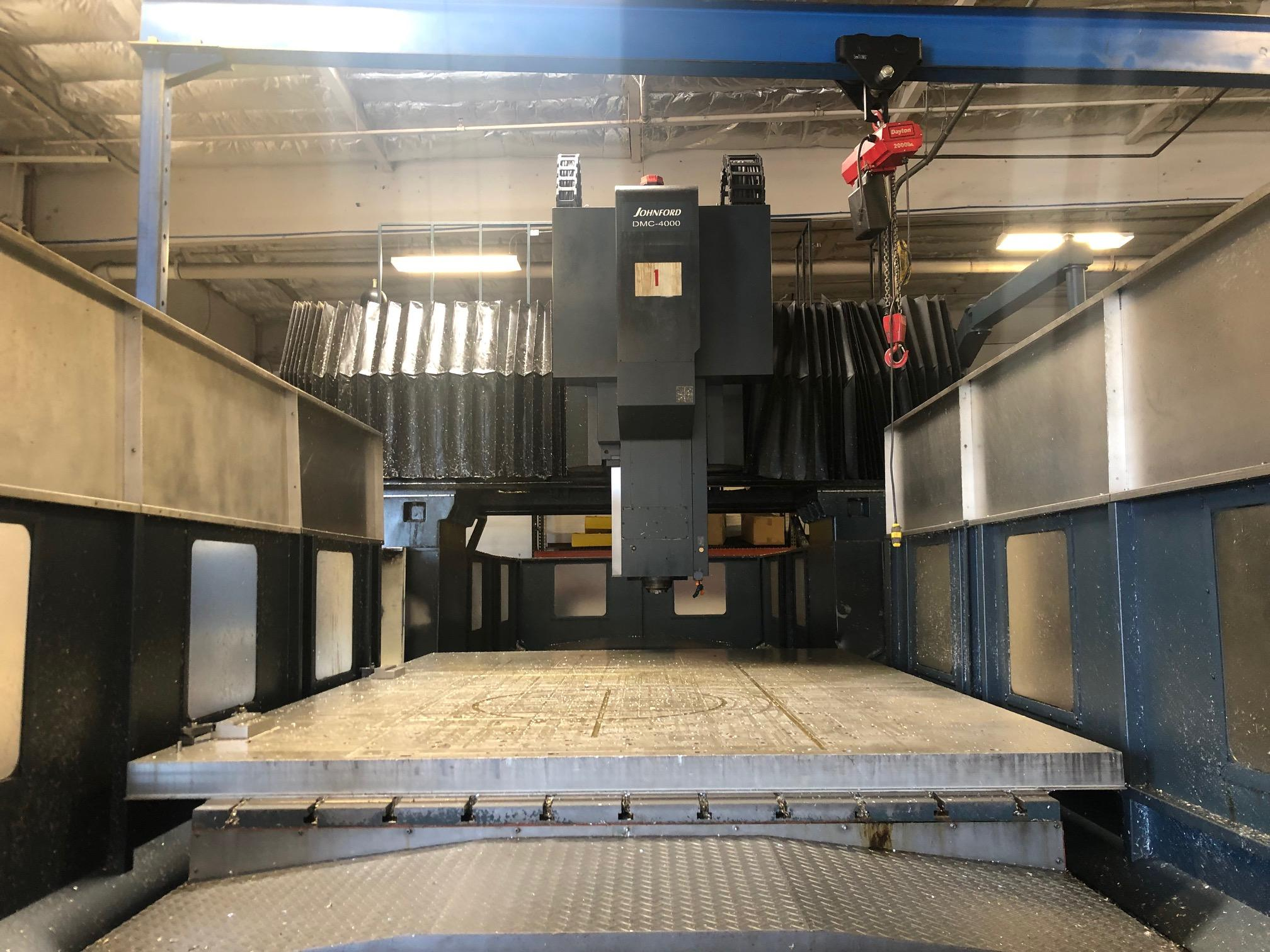 2007 Johnford DMC-4000x2800 CNC Double Column Machining Center