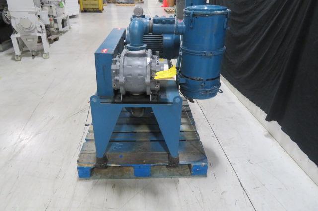 Novatec Used VPU-15HP Vacuum Loader & Filter 15hp, 460V, Yr. 2006