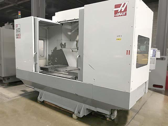 """HAAS EC-1600-4X, Haas CNC Control, 64"""" x 36"""" Table, Built-in 30"""" 4th Axis Rotary, Cat-50, X=64"""", Y=40"""", Z=32"""", 30 Station Tool Changer, TSC, New 2007."""