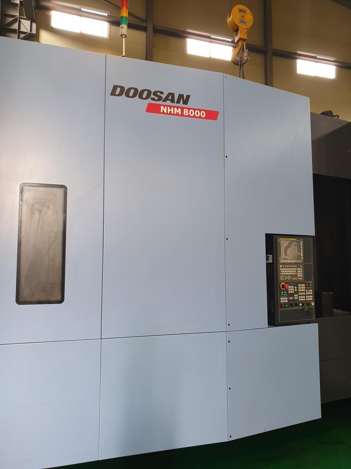 Doosan NHM 8000 CNC Horizontal Machining Center