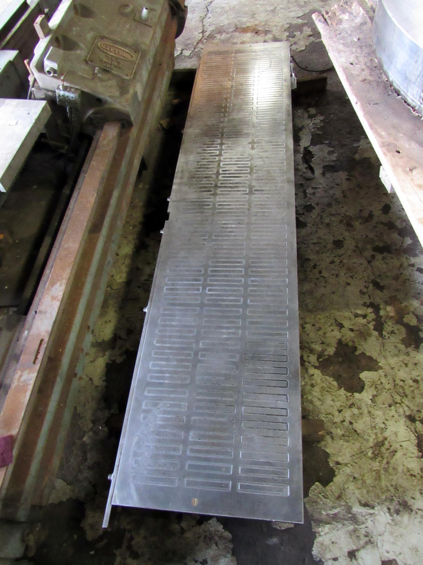 """USED, 20"""" X 96"""" MAGNETIC TABLE (CHUCK) FOR SURFACE GRINDER"""