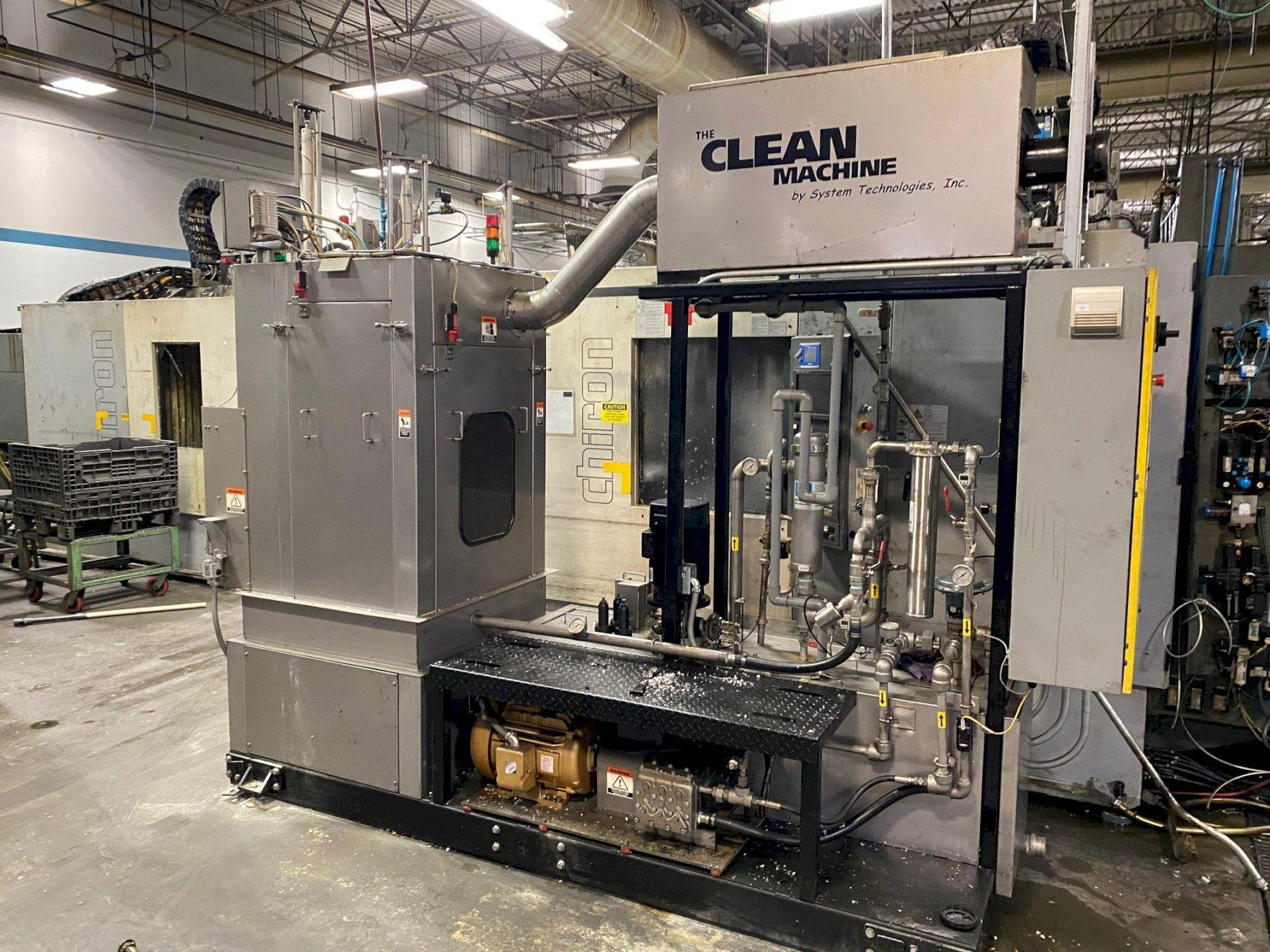 SYSTEM TECHNOLOGIES MODEL #CMI-123-480 CLEAN MACHINE HIGH PRESSURE STAINLESS STEEL PARTS WASHER: STOCK #14486