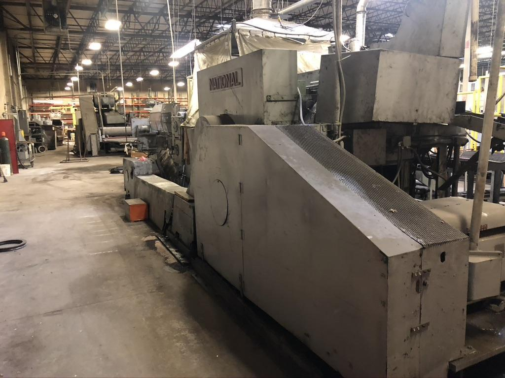 "3/4"" National Machinery 4 Die Boltmaker"