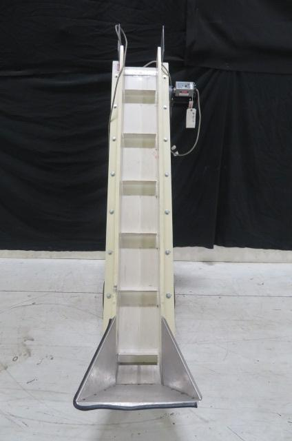 PPE Used Incline Conveyor, 8 in x 6ft,  110V