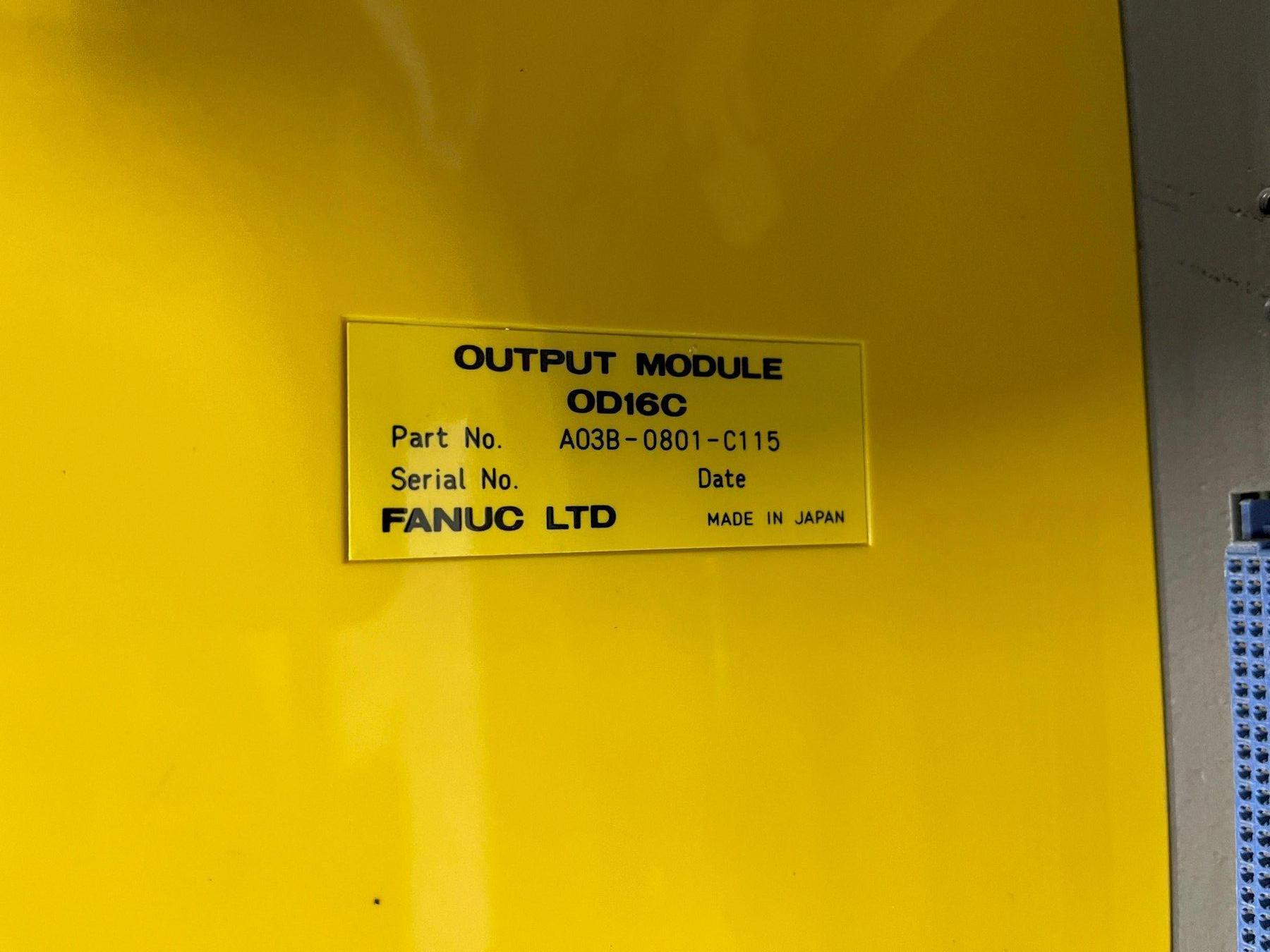 FANUC I/O RACK - MULTIPLE BOARDS ATTACHED