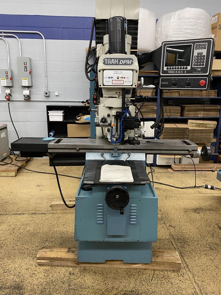Trak DPM3 CNC Mill