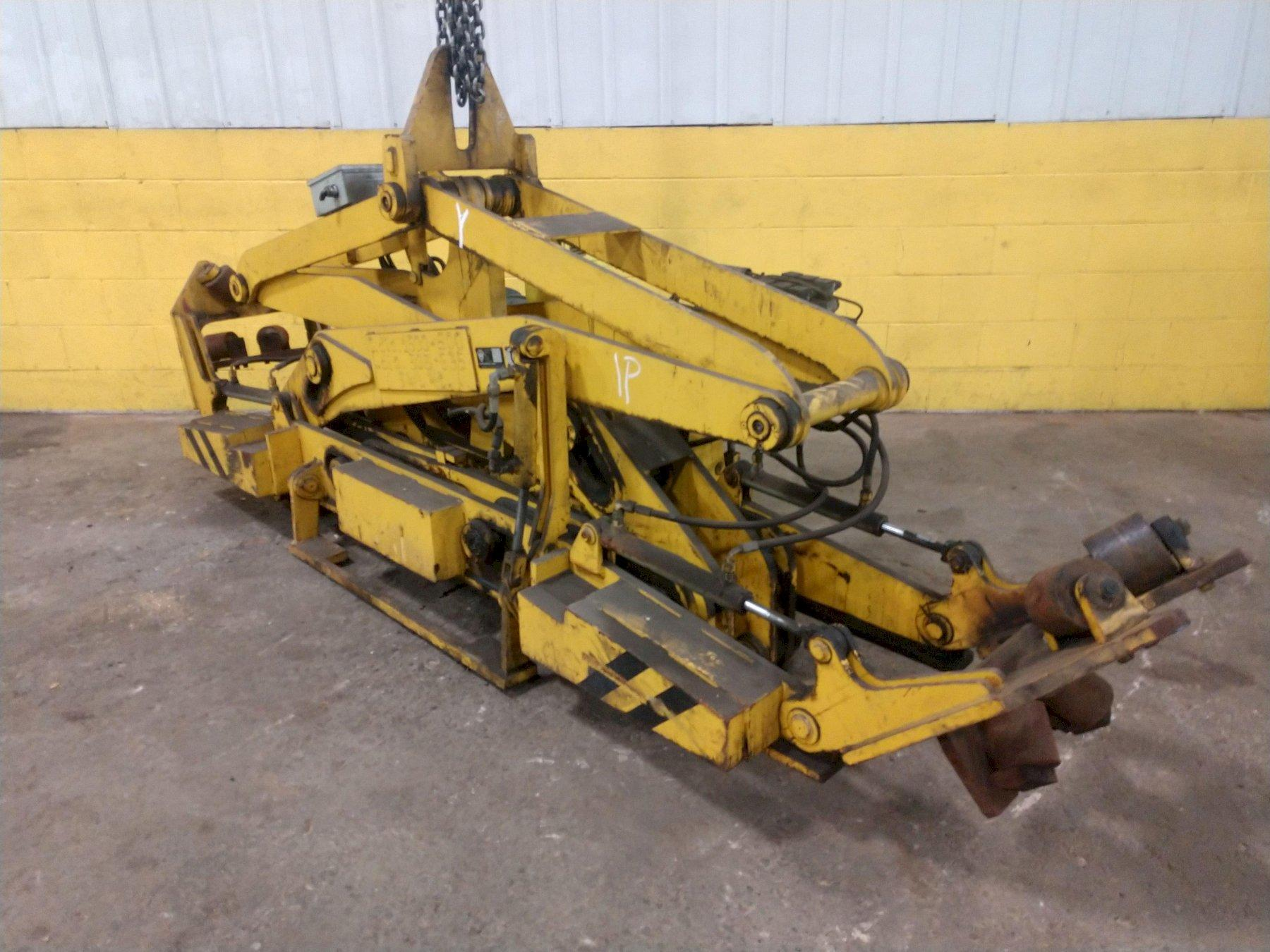 8500 LBS LUDWIG BONNHOFF ARTICULATING COIL LIFTER: STOCK #14205