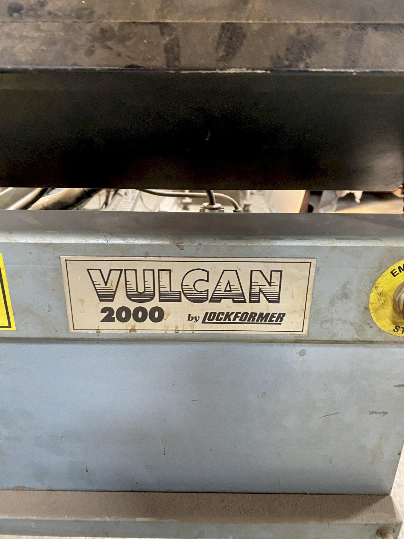 "60"" X 120"" LOCKFORMER VULCAN 2000 PLASMA CUTTING MACHINE. STOCK # 1263820"
