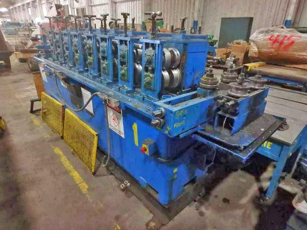 """8 Stand 8.00"""" x 1.50"""" Rafter Rollforming Line"""