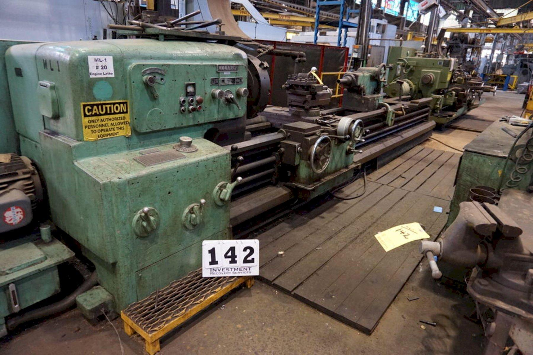 30' X 168' MONARCH MODEL #91 ENGINE LATHE: STOCK #73422