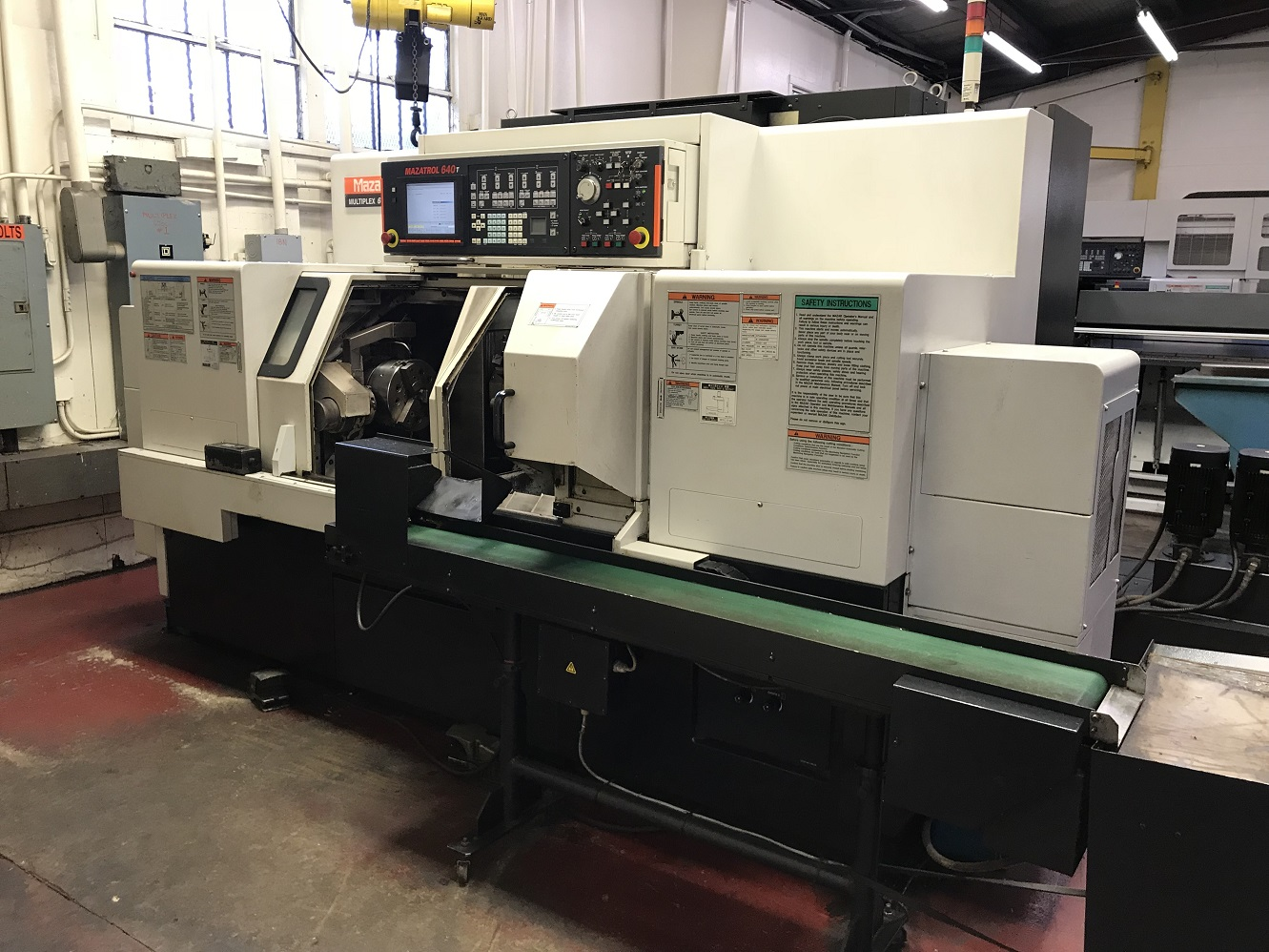 MAZAK MULTIPLEX 6200Y  CNC TURNING CENTER WITH TWIN SPINDLES