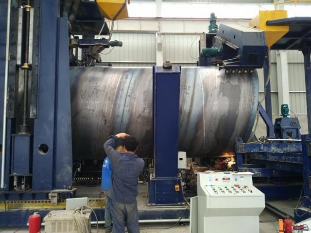 """165"""" x .750  Spiral Pipe Mill"""