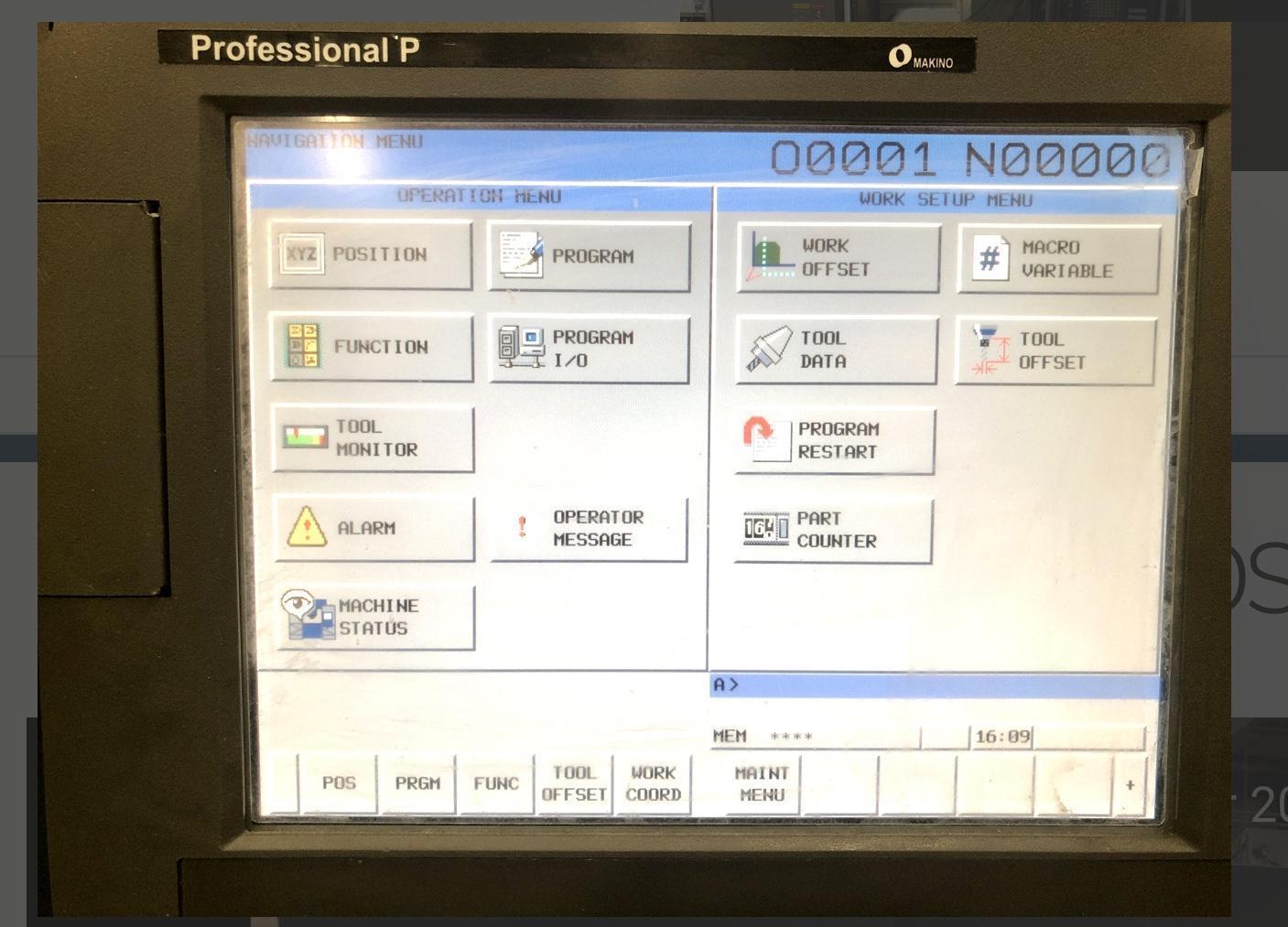 MAKINO PS95 - 5 Axis 2011