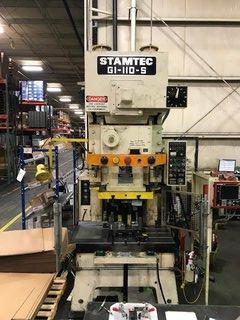 STAMTEC G1-110S OPEN BACK GAP FRAME PRESS