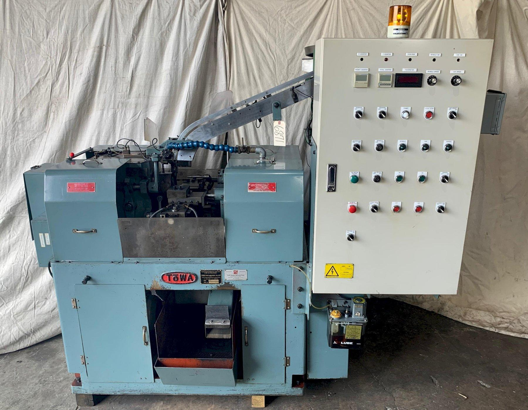 Towa TO 4BH Secondary Operation Machine Driller/Shaver