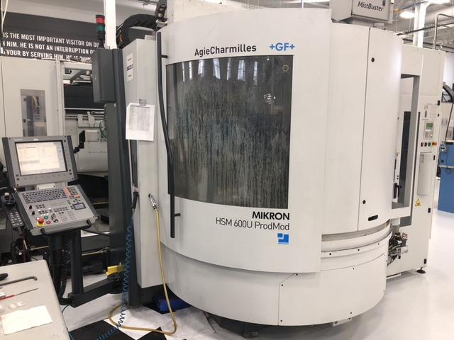 2007 MIKRON HSM 600u PROMOD - CNC Vertical Machining Center