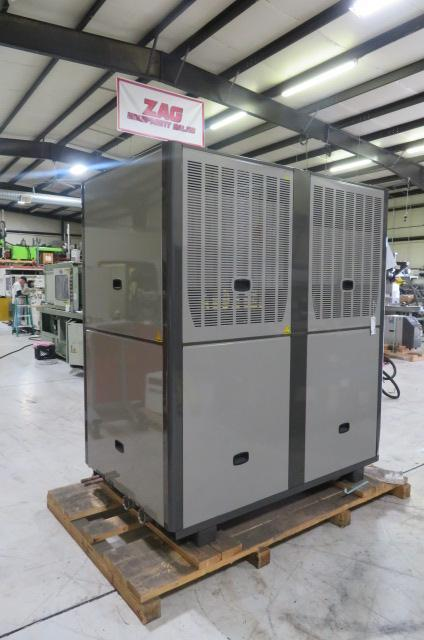 AEC GPRC-70 20 ton Package Remote Cooled Chiller, yr 2014 & RC90 Remote Central Condenser, yr 2017 - New Condition