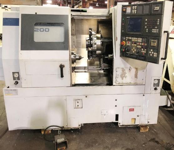 MORI SEIKI MODEL #SL-200MC CNC TURNING & MILLING CENTER