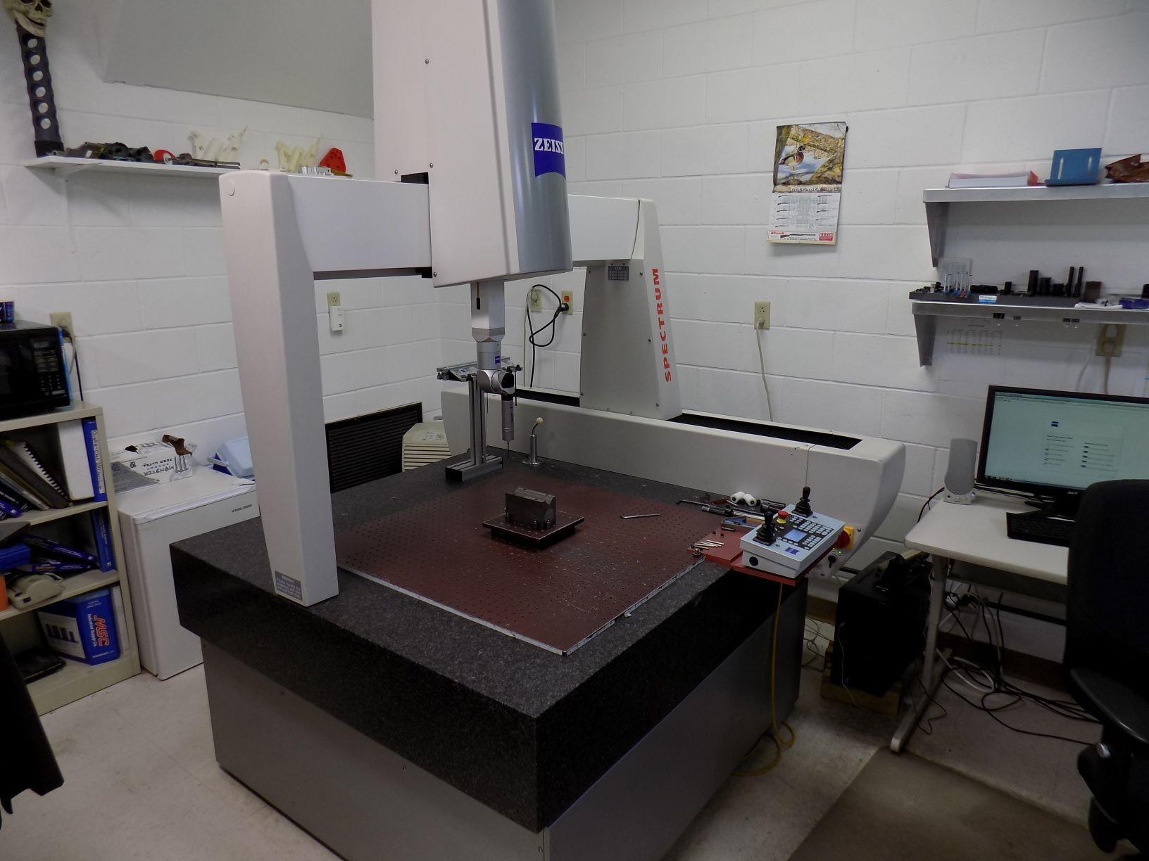 Zeiss Spectrum 10/10/6 RDS DCC Coordinate Measuring Machine