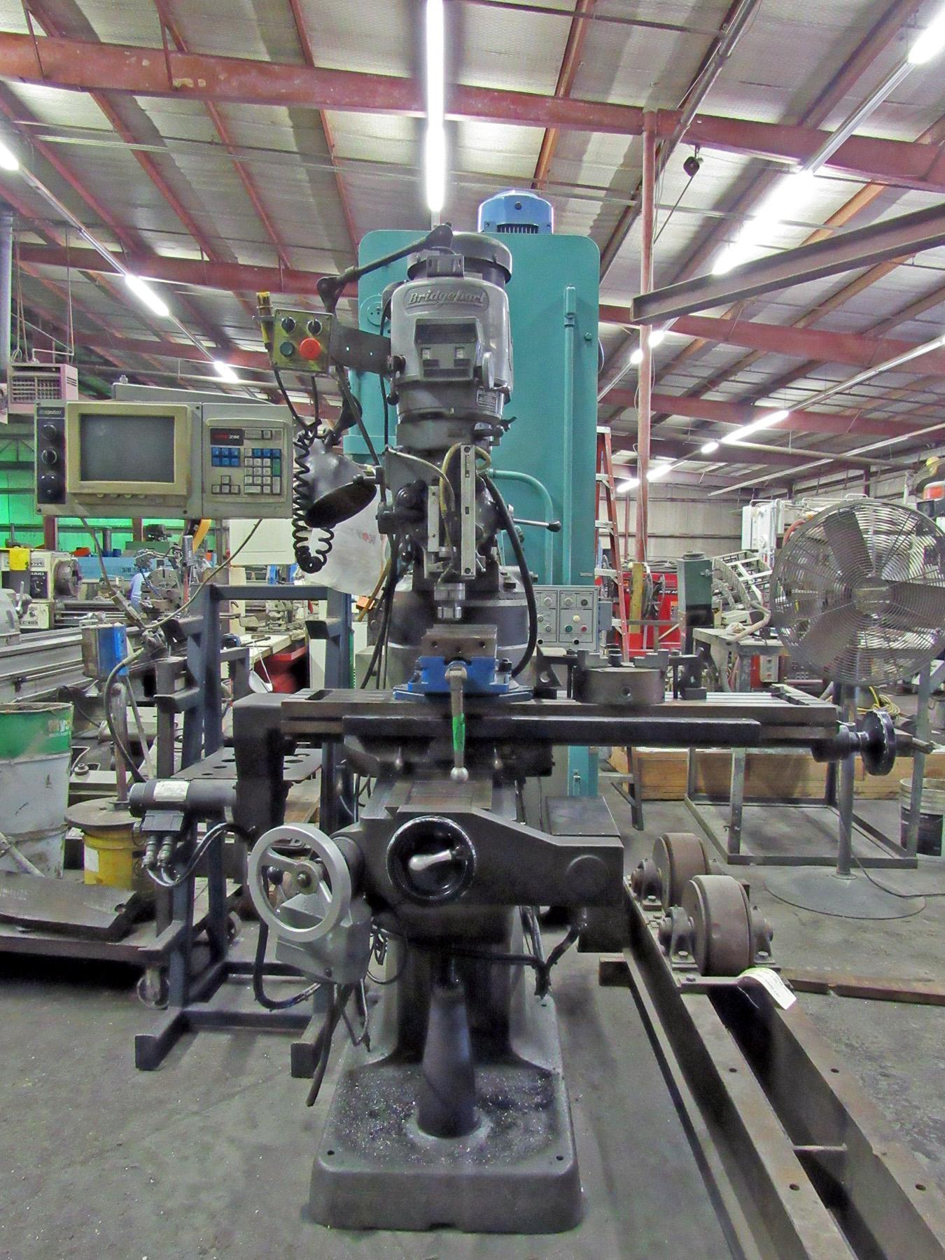 USED, BRIDGEPORT EZ TRAK SERIES I CNC VERTICAL MILLING MACHINE