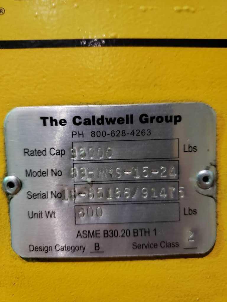30,000# Caldwell Coil Grab