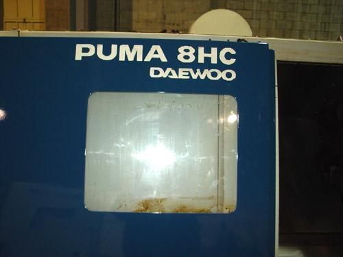 DAEWOO PUMA 8HC, FANUC 0T CNC